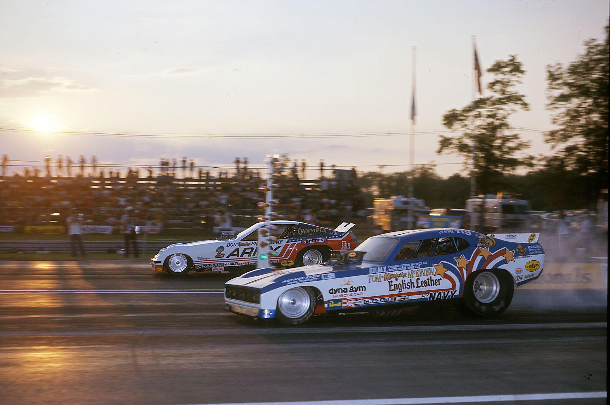 Vintage Drag Racing - Mongoose vs. The Snake Appreciated by Motorheads Performance www.musclecarssanantonio.com