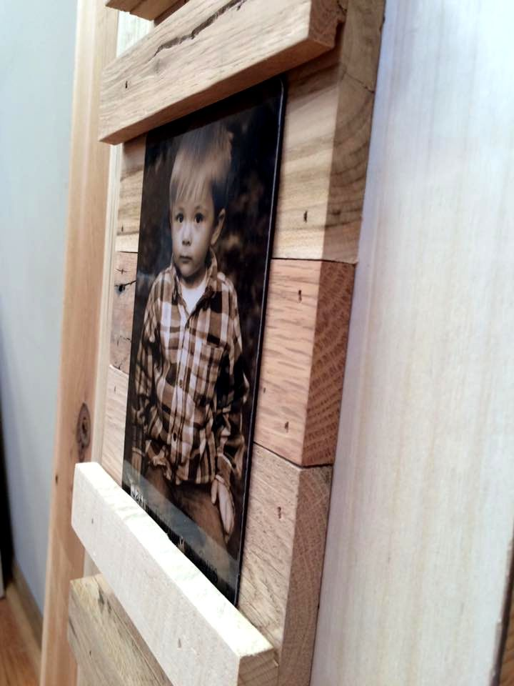Making Picture Frames from Pallets | Pinterest | Marcos para foto ...