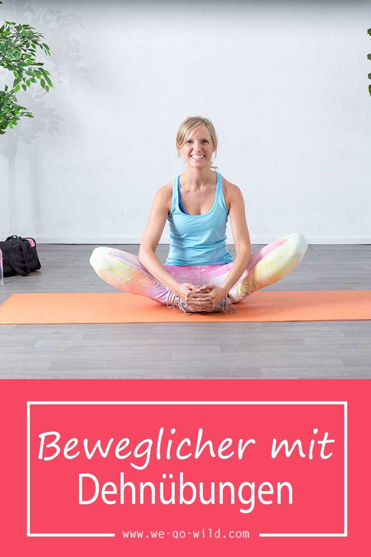 Das Dehnübungen Beine beweglicher machen, wissen wir alle. Aber Stretching bringt auch noch viele an...