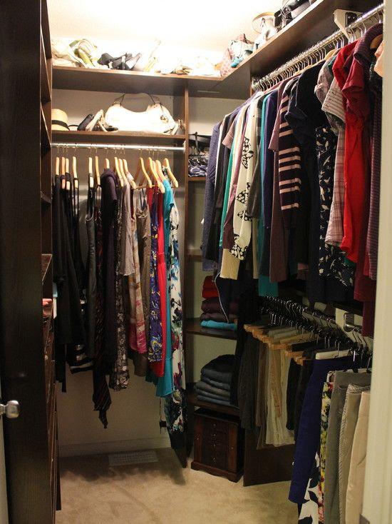 Closet Small Walk-in Closet Design, Pictures, Remodel, Decor and ...
