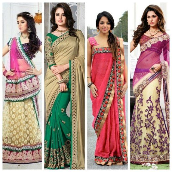 c4f1ca2403 What are the different styles of wearing sarees(saris)  - Quora