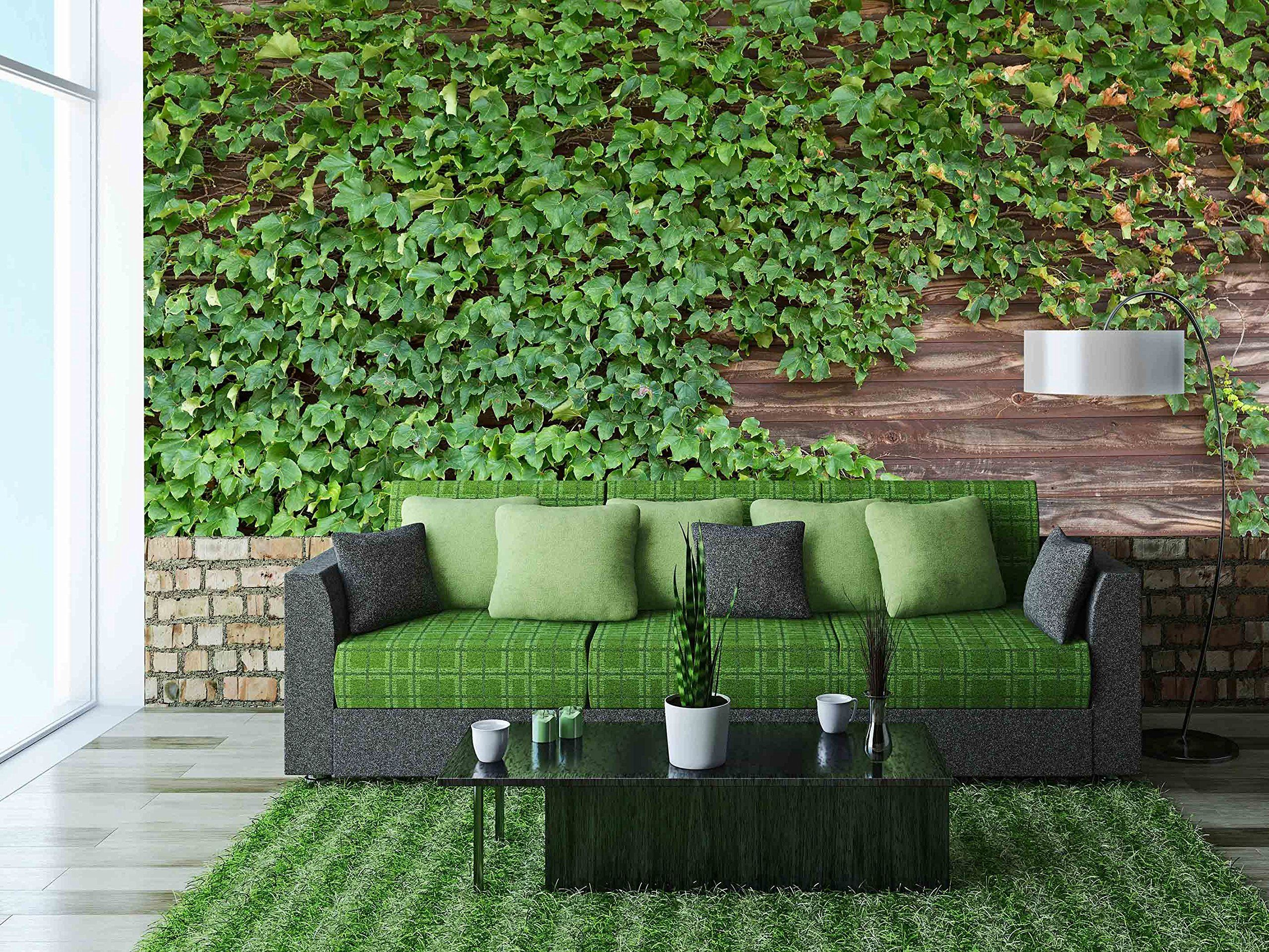 Wall26   Old Brick Wall Covered In Ivy   Removable Wall Mural | Self  Adhesive