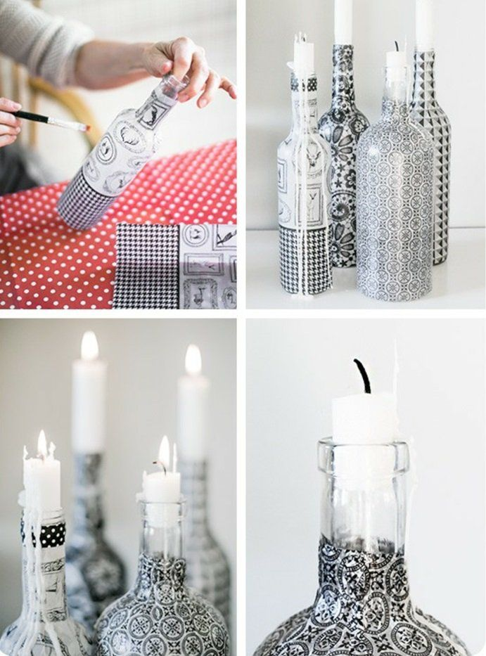 42 upcycling ideen f r diy lampen aus glasflaschen diy. Black Bedroom Furniture Sets. Home Design Ideas
