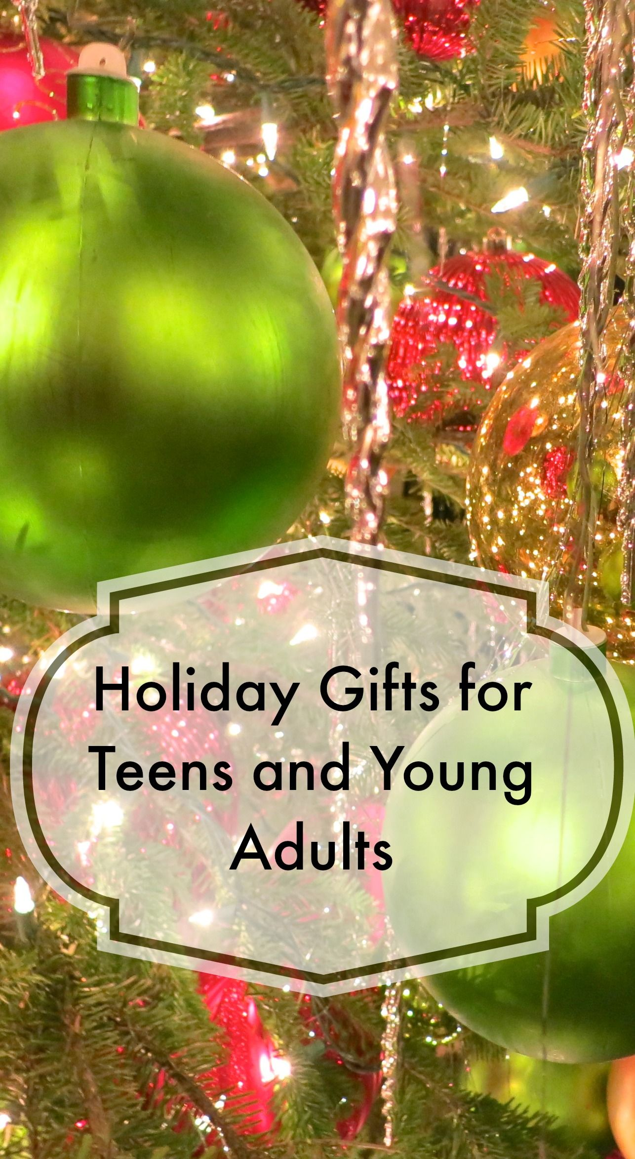Here is a list of holiday gifts for teens and young adults, with at ...