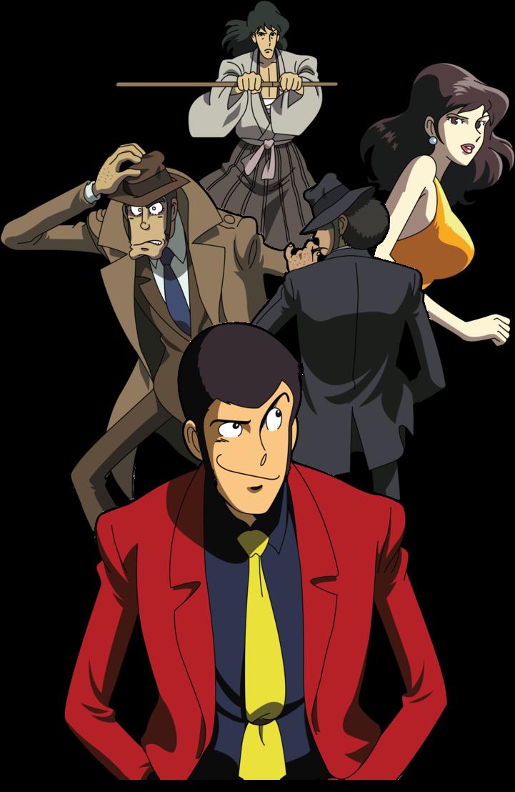 Lupin the iii manga & anime manga anime cartoni animati e