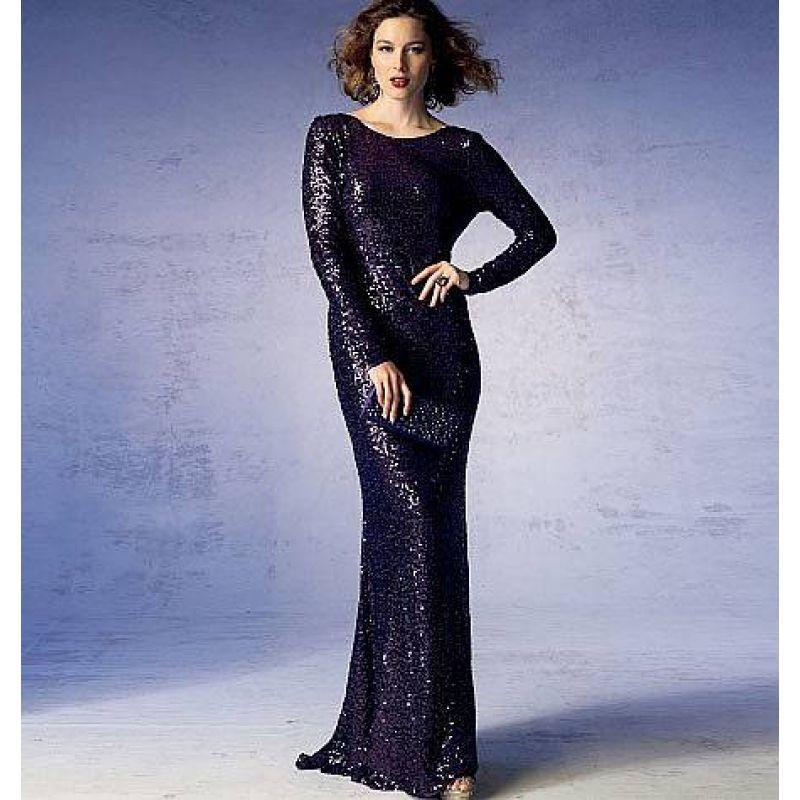 Vogue 1374 Abendkleid Gr. 32-48 in 2018 | Nähen | Pinterest ...
