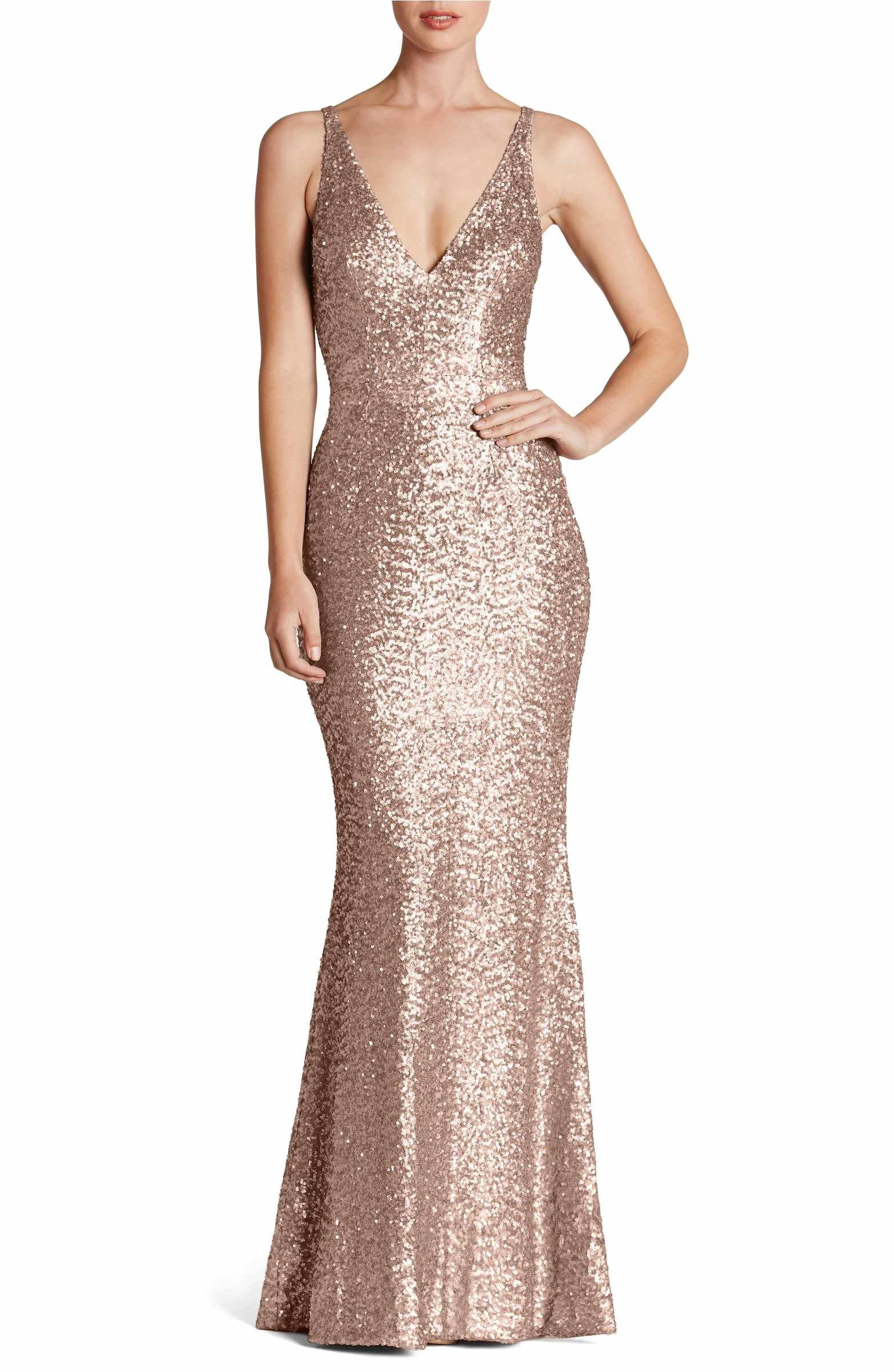 Main image dress the population harper mermaid gown formal