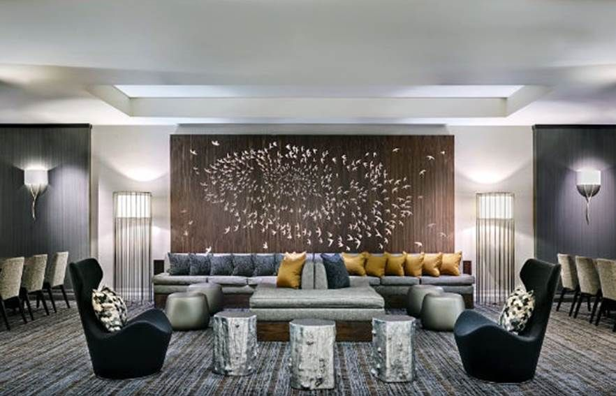 San Jose Marriott By Design Firm Art Consultant