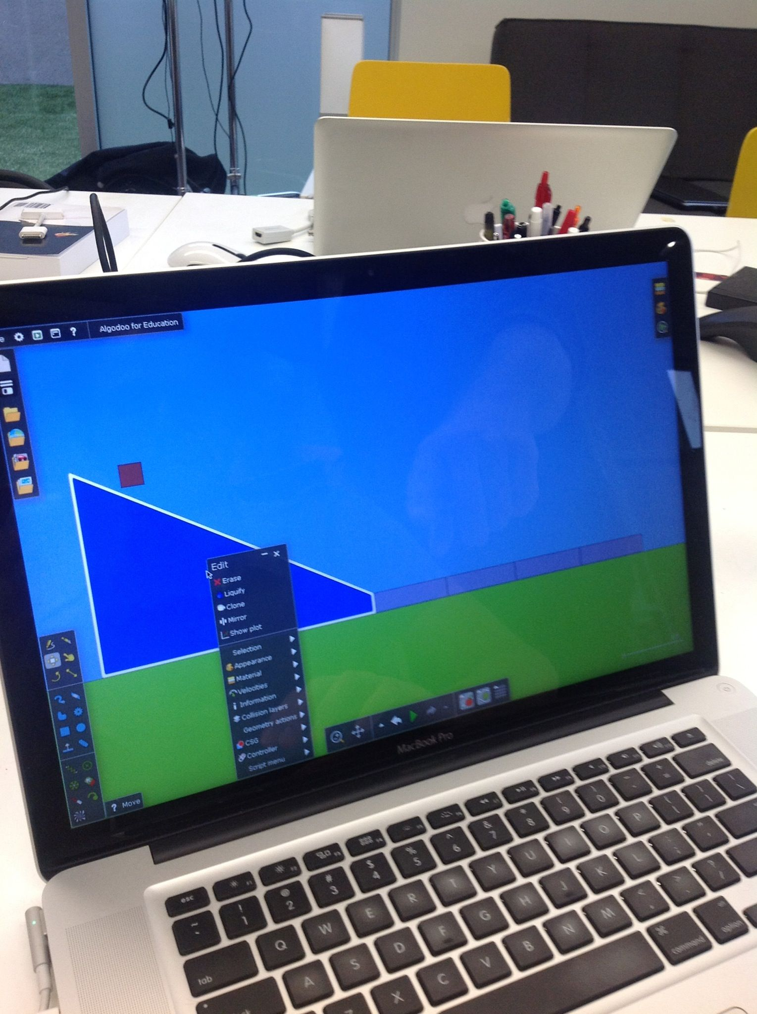 How To Teach Friction With Algodoo App And Class Play