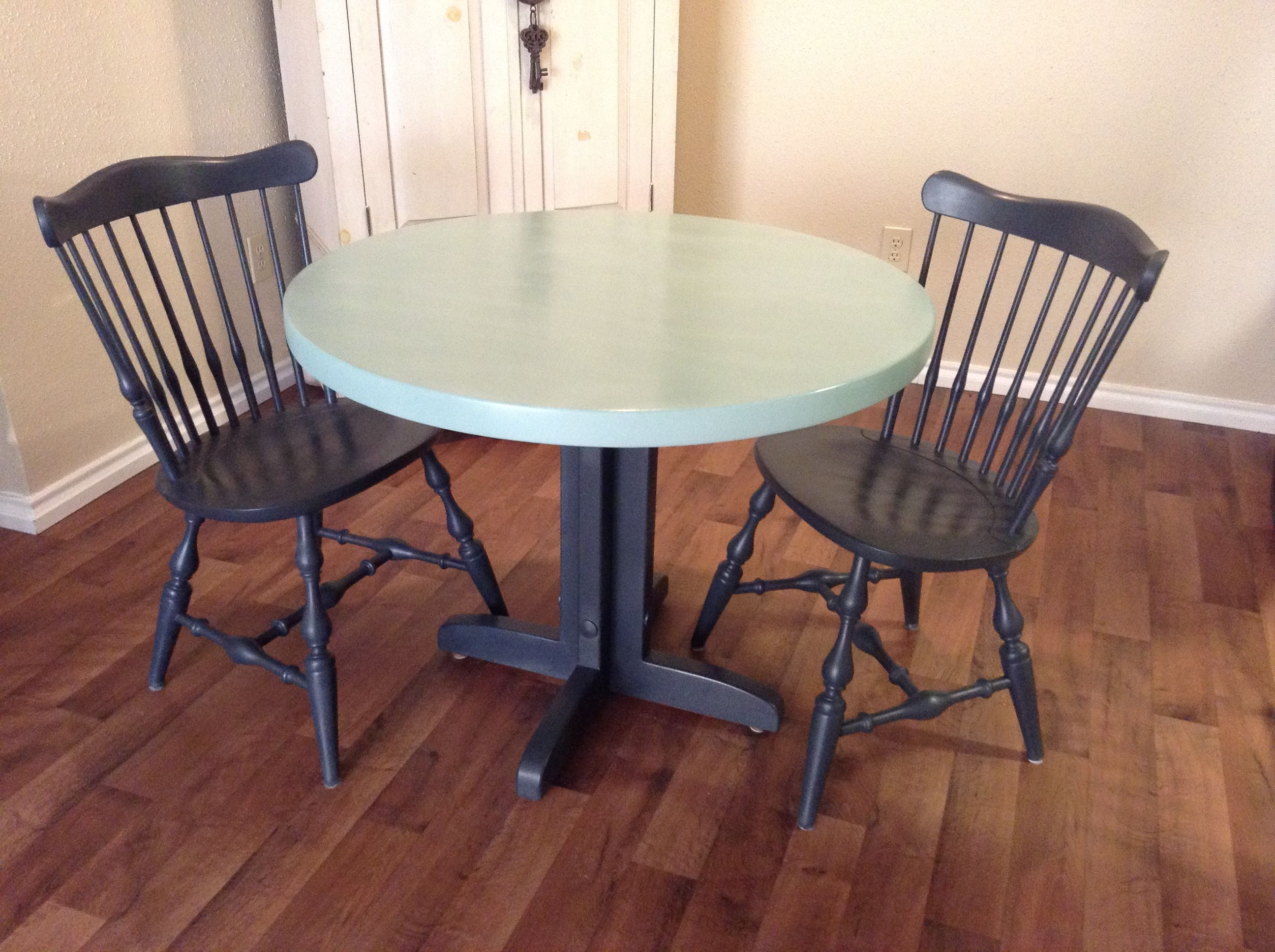 maple table and ethan allen chairs get a facelift using annie sloan rh pinterest co uk
