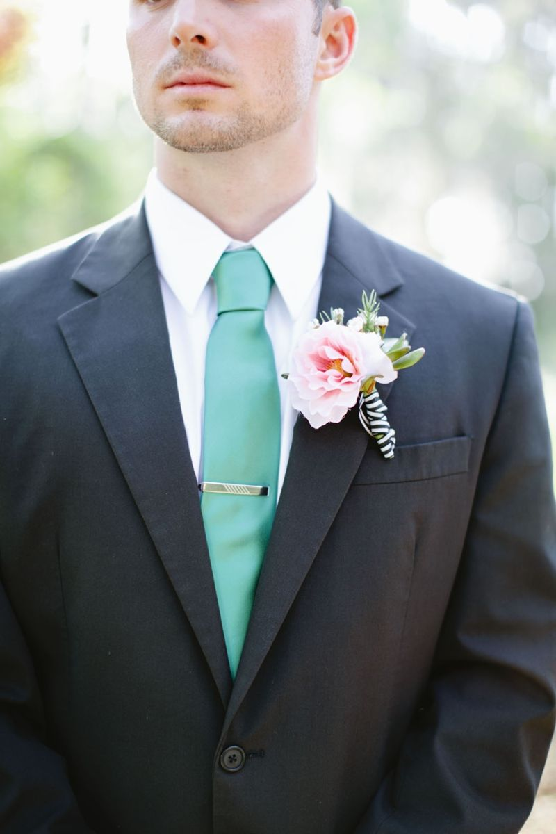 Aqua, Black, and White Wedding Inspiration | Devon, Photography ...
