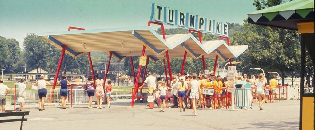 Coney Turnpike 1960's. | Coney island cincinnati, Kings island amusement  park, Cincinnati ohio