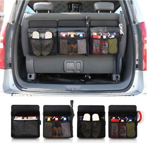 Spider Car Trunk Cargo Organizer Lid Colsole Storage Box For Rv Suv Hatchback