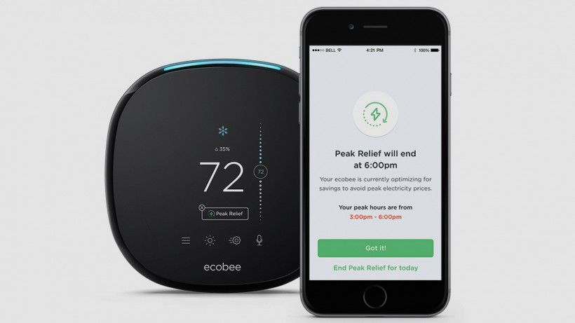 Ecobee S New Peak Relief Feature Saves You Money With Cheaper Electricity Ecobee Has Launched A Feature For Its Sma Solar Energy Diy Cheap Electricity Ecobee