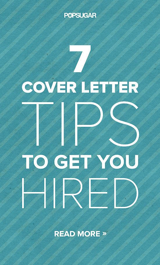 Catch A Recruiters Eye With These 7 Cover Letter Tips