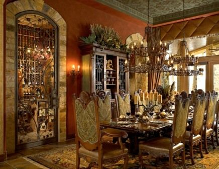Western Charm The Dining Room Pinterest Westerns, Tuscan