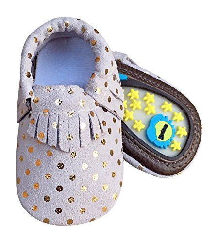 71a898d26f1 Lucky Love Baby Hard Sole Toddler Moccasins Shoes Size 12-18 Months ...