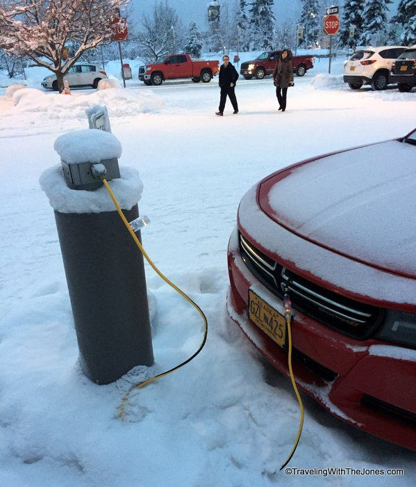 Plugging In Your Car To A Pedestal I Think Our Was Block Heater And Pan You Only Plug During Winter But Blazer Had