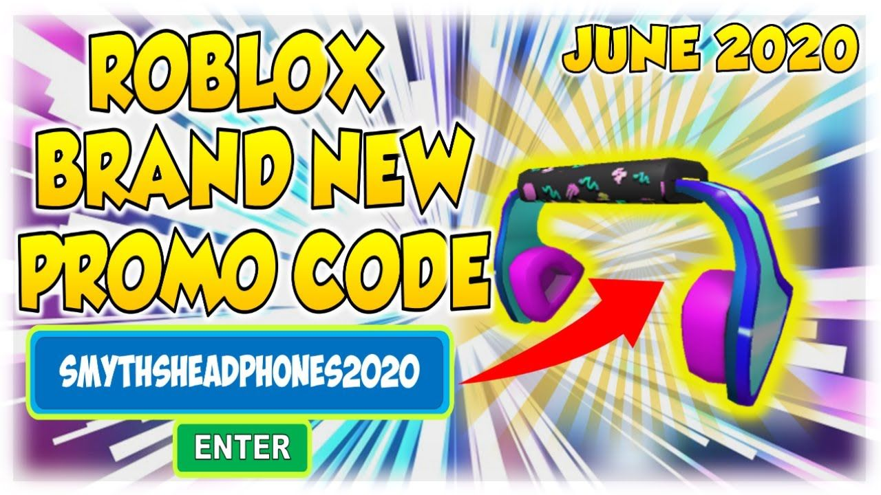 Roblox Brand New Promo Code Released June 2020 Insane Headphones In 2021 Roblox Promo Codes Coding