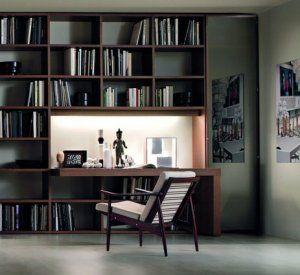libreria scrivania soggiorno - Cerca con Google | Libreria ...