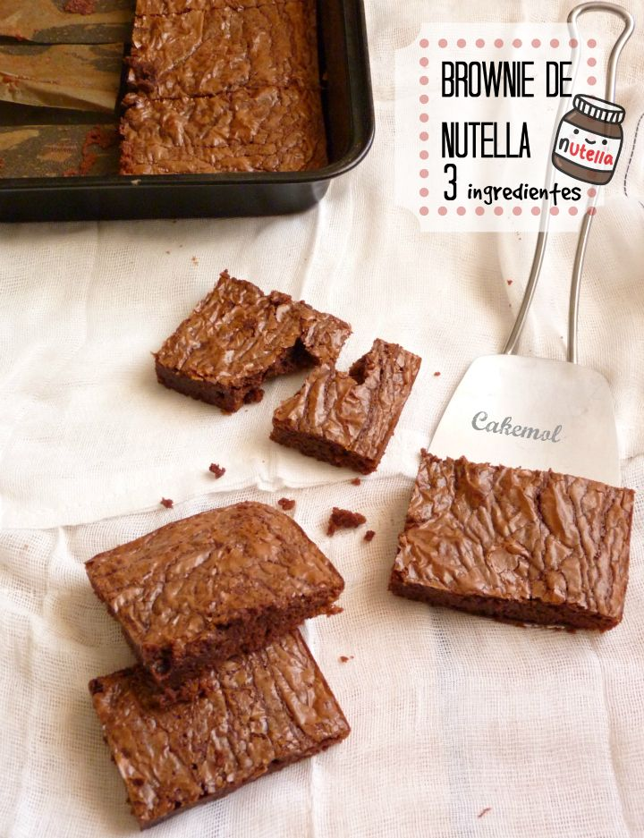 Cakemol Nutella Recetas Nutella 3 Ingredientes