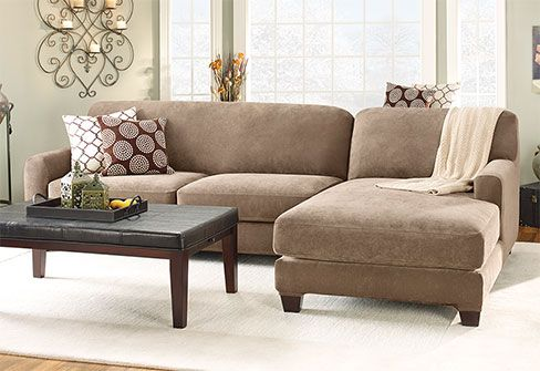 Best Stretch Piqué Five Piece Sectional Slipcover Right 400 x 300