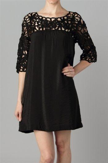 Woven Top Tunic Dress