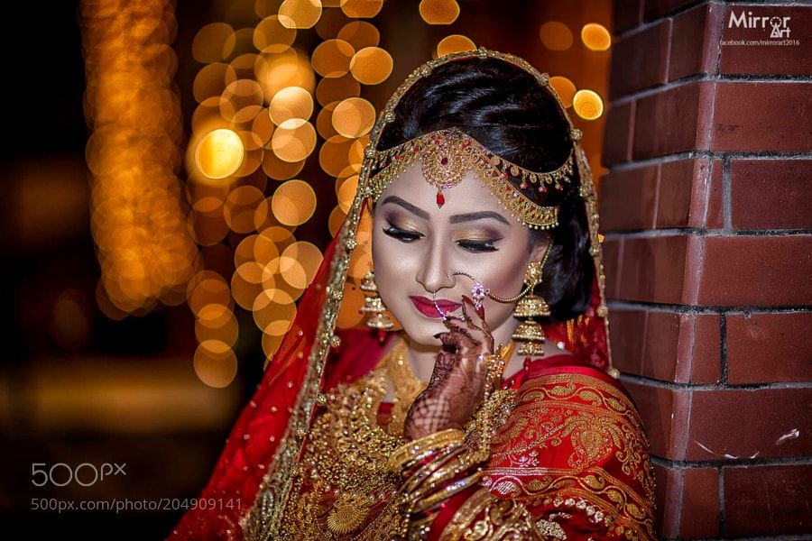 Wedding : Bride - Forhad_f. #Pinterest #photo #photography #landscape #people #girl #girls #hot #naked #cute #food #sport #travel #dress #fashion