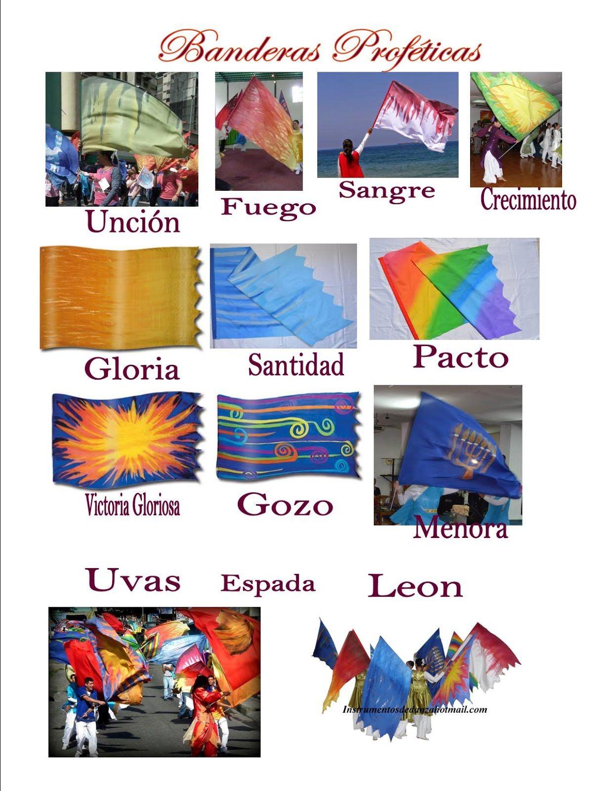 Banderas Prófeticas | Estandartes | Pinterest | Banderas