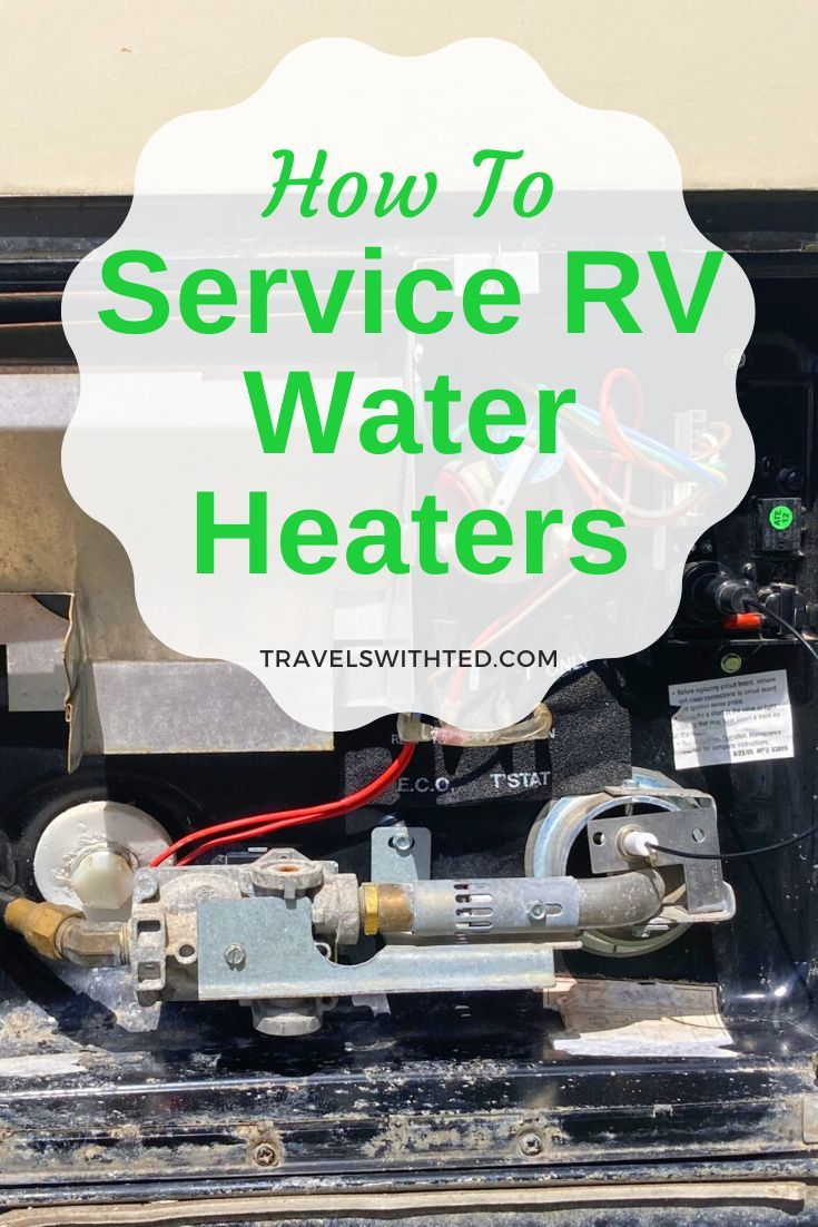 RV Water Heater Maintenance: How to Drain, Clean a