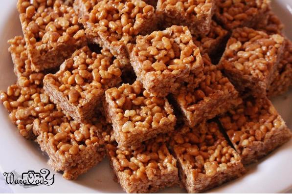 مطبخ كويتيات حلا الرايس كرسبي Arabic Food Recipes Krispie Treats