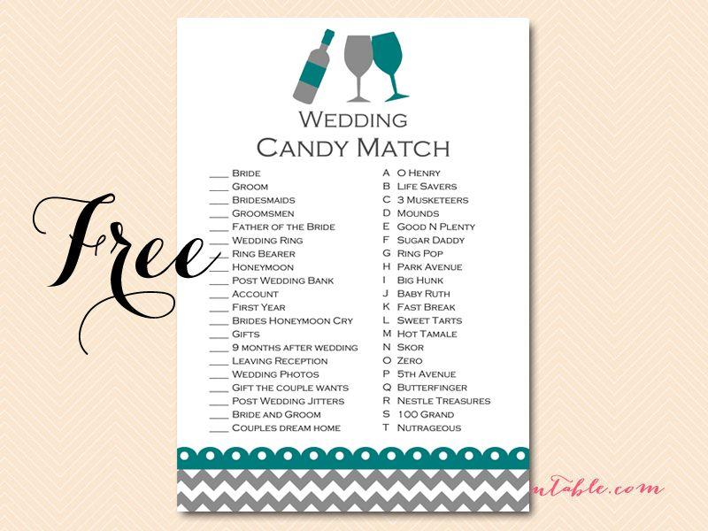 cadc42eb2b591 FREE Wined Themed Bridal Shower Game Pack | Nichols wedding | Bridal ...