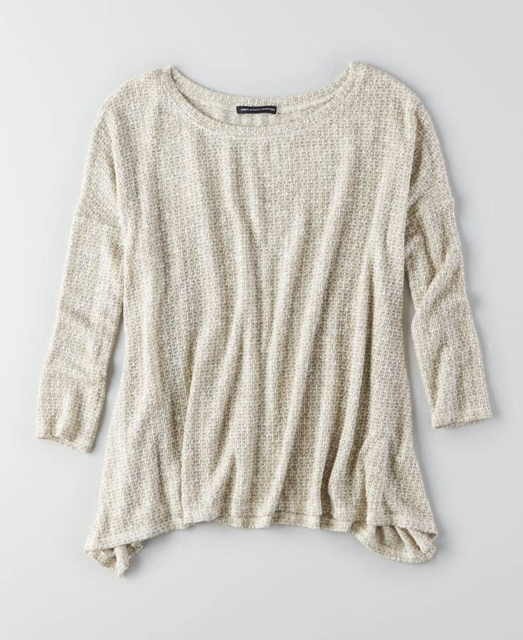 AEO Feather Light Pullover Sweater, Women's, Brown | American ...