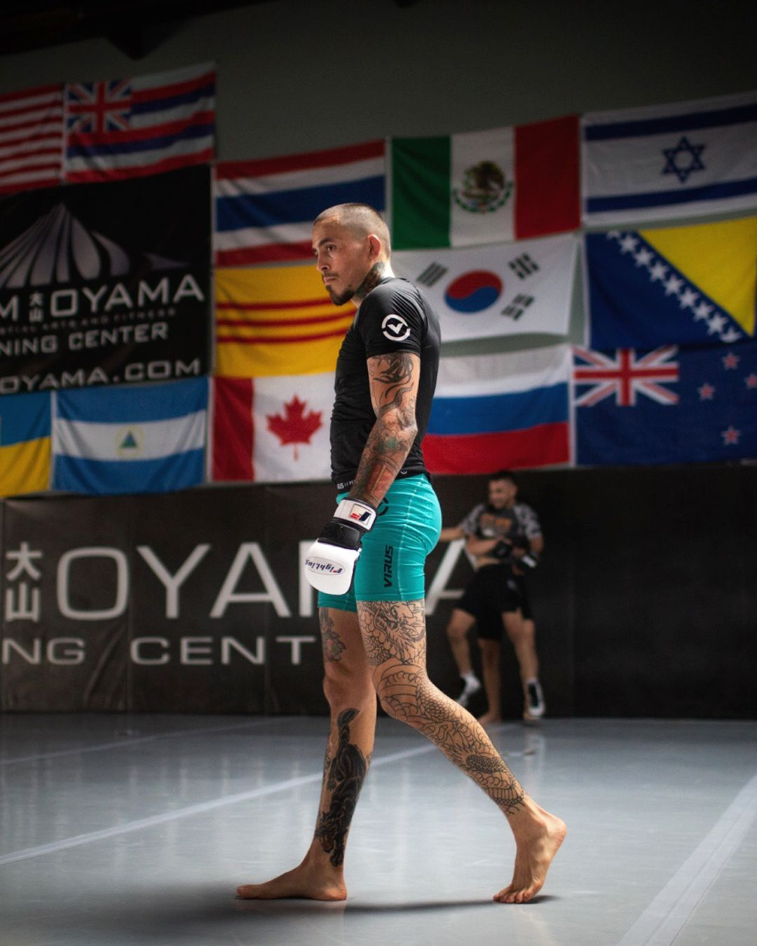 Best of luck to chitoveraufc as he takes the octagon at