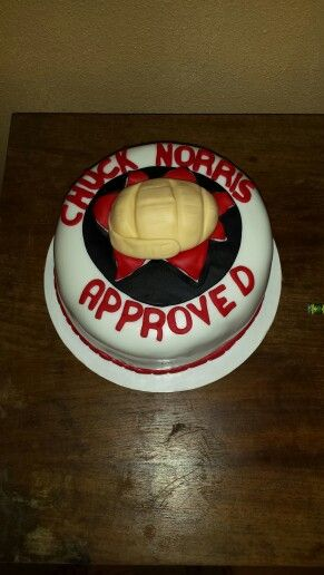 Swell Chuck Norris Cake With Images Desserts Cake Food Personalised Birthday Cards Sponlily Jamesorg