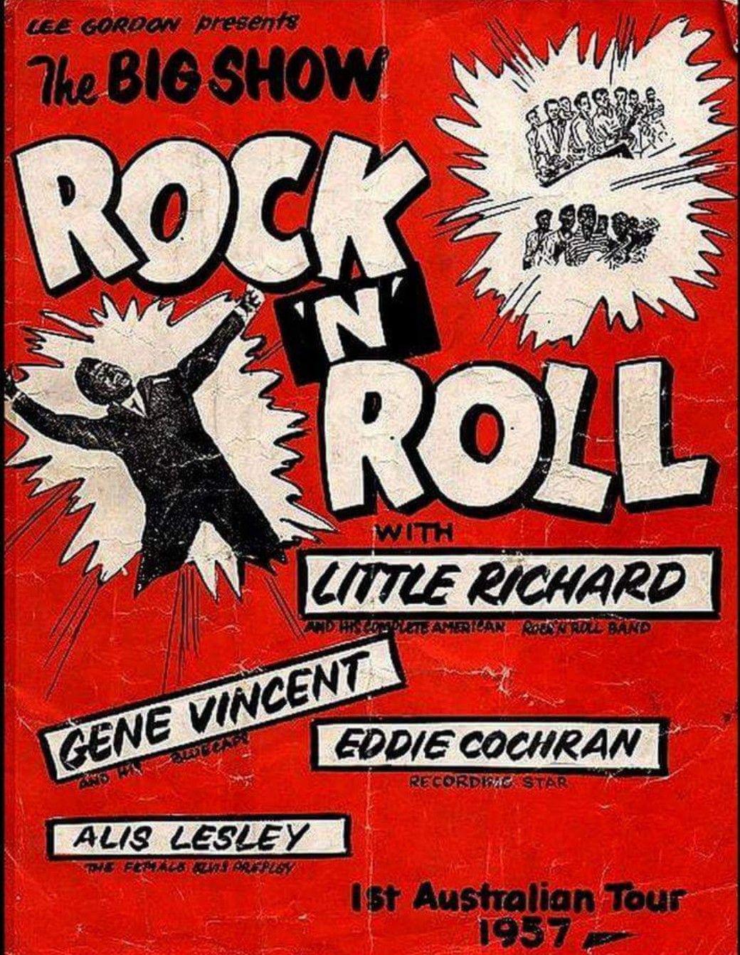 Australian Rock Music Posters