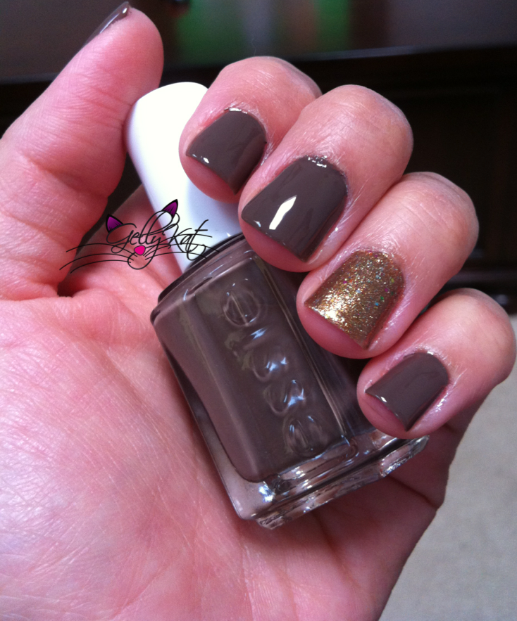Fall Nails! Essie -Mink Muffs and Nicole OPI Kardashian Kollection ...