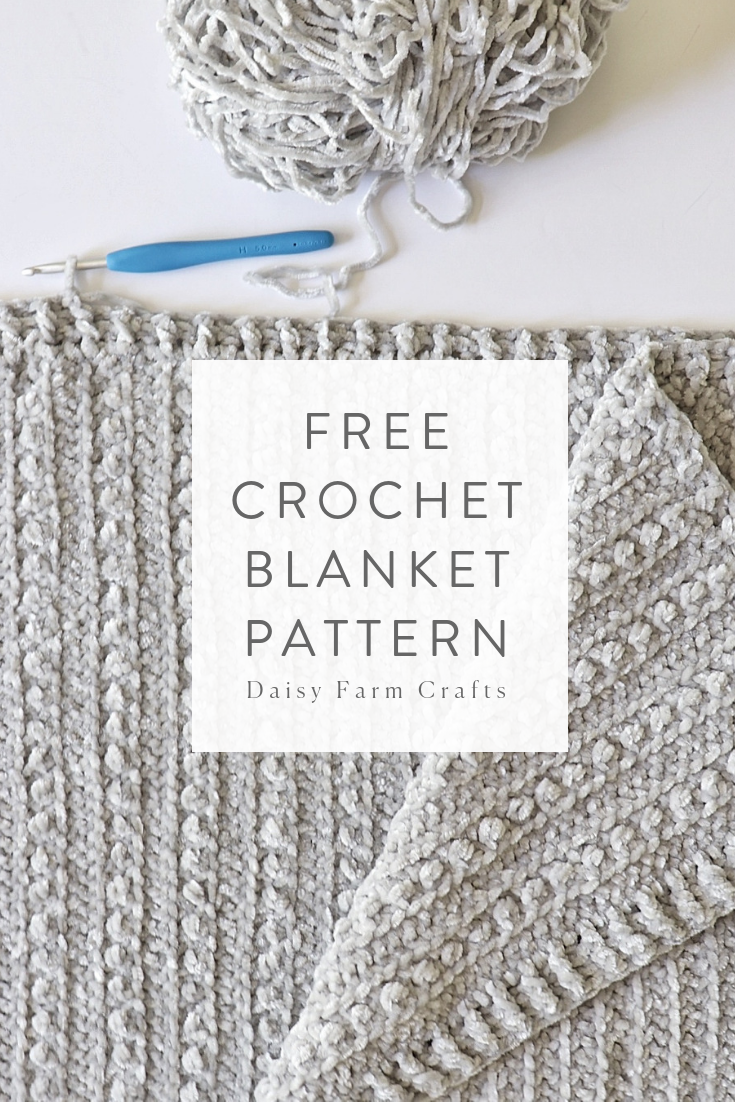 Photo of Free Crochet Blanket Pattern – Velvet Berries Throw