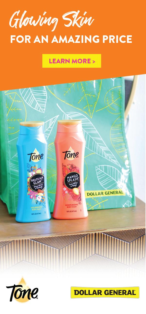 A true morning routine favorite? toneskincare Body Wash