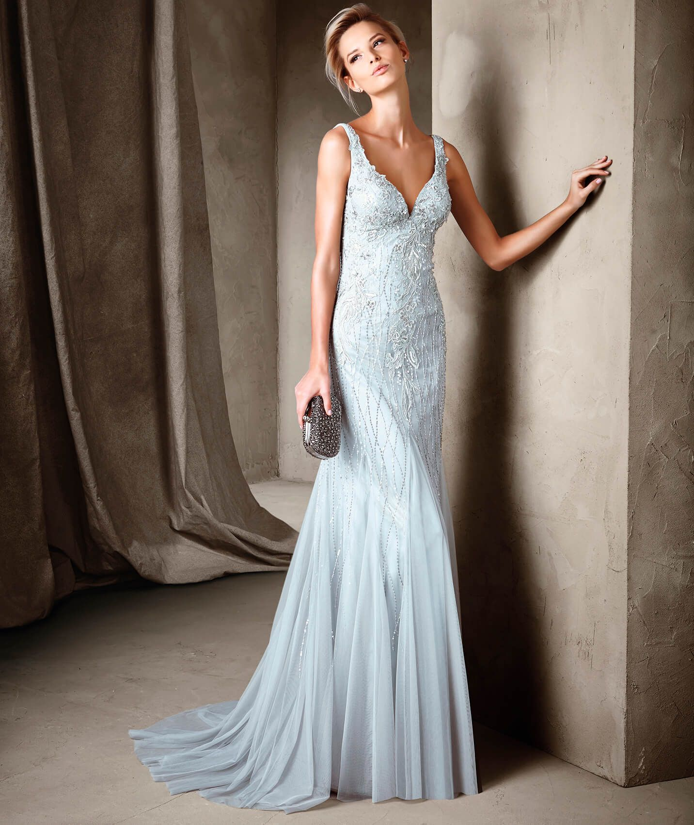 Espectaculares vestidos noche largos nuevos