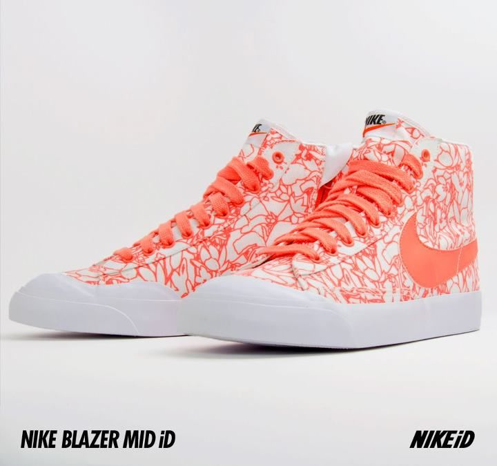 Nike Blazer Mid iD - Now Available The most recent Nike Sportswear  silhouette to hit NikeiD