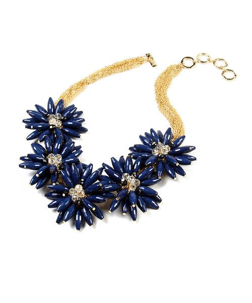 Take a look at the Amrita Singh Blue Lapis Botanical Necklace on #zulily today!
