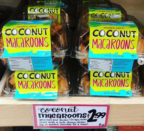 Trader Joe S Coconut Macaroons In 2020 Coconut Macaroons Macaroons Coconut