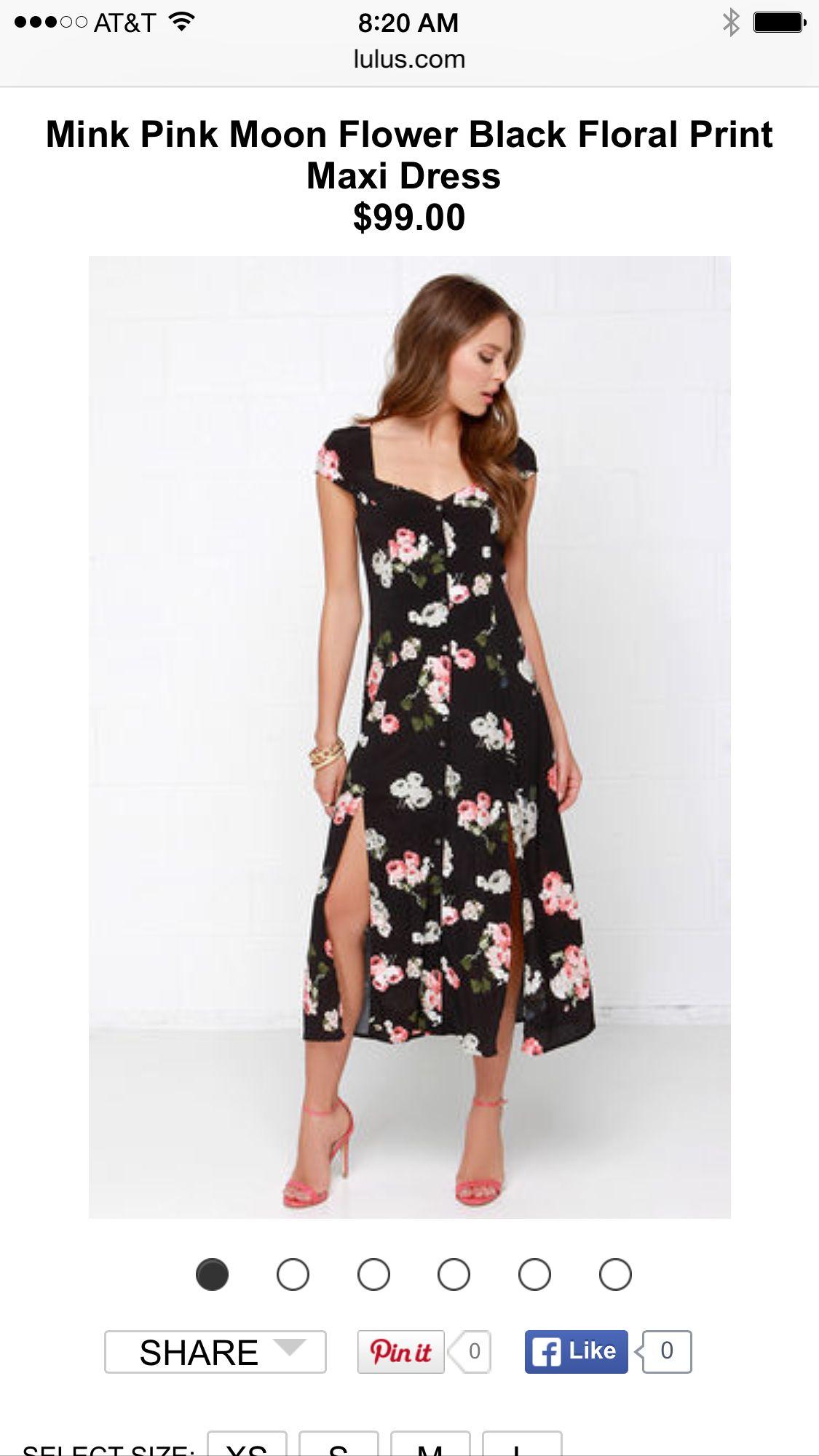 acae9d3caeeb9 Floral dress | Get In My Closet!!!! | Floral print maxi dress, Pink ...