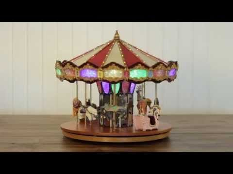Animated Grand Jubilee CarouselSee more wwwteelieturner - christmas carousel decoration