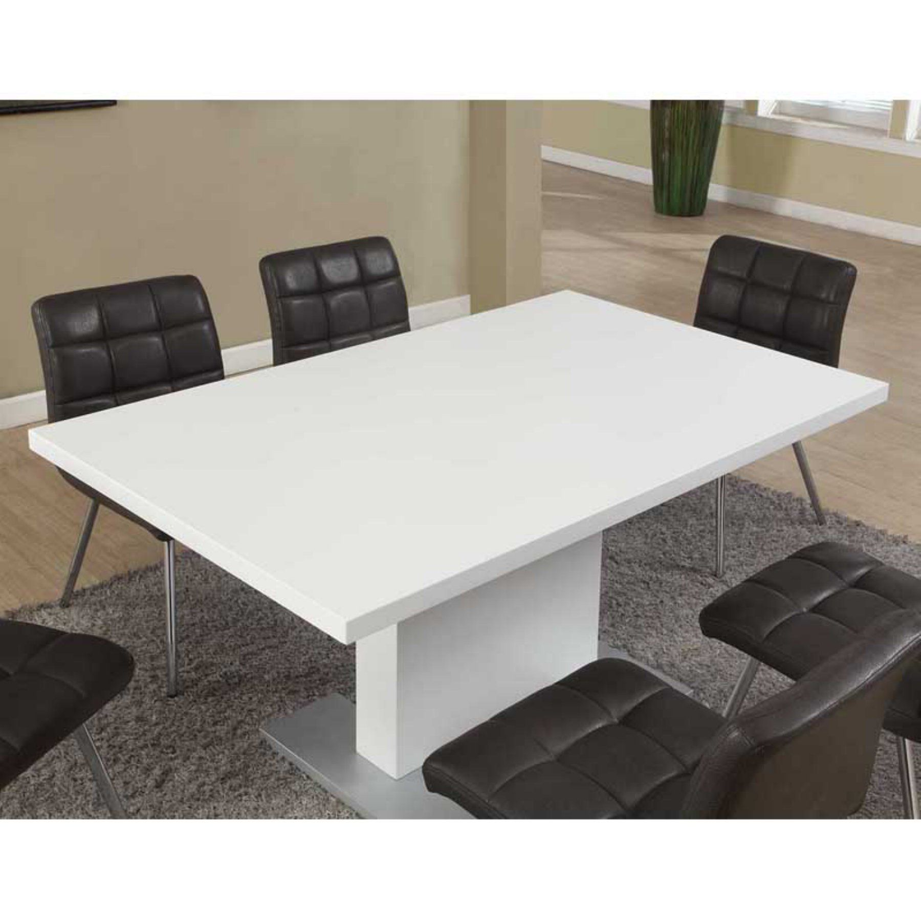 Monarch Fenwick High Glossy Rectangle Dining Table