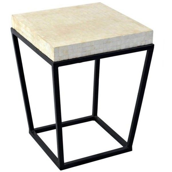 Crafted Home Bowdon White Square End Table 225 Liked On