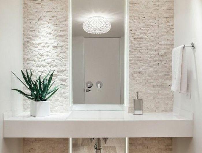 Comment créer une salle de bain zen?   Salle de bain zen, Miroir ...