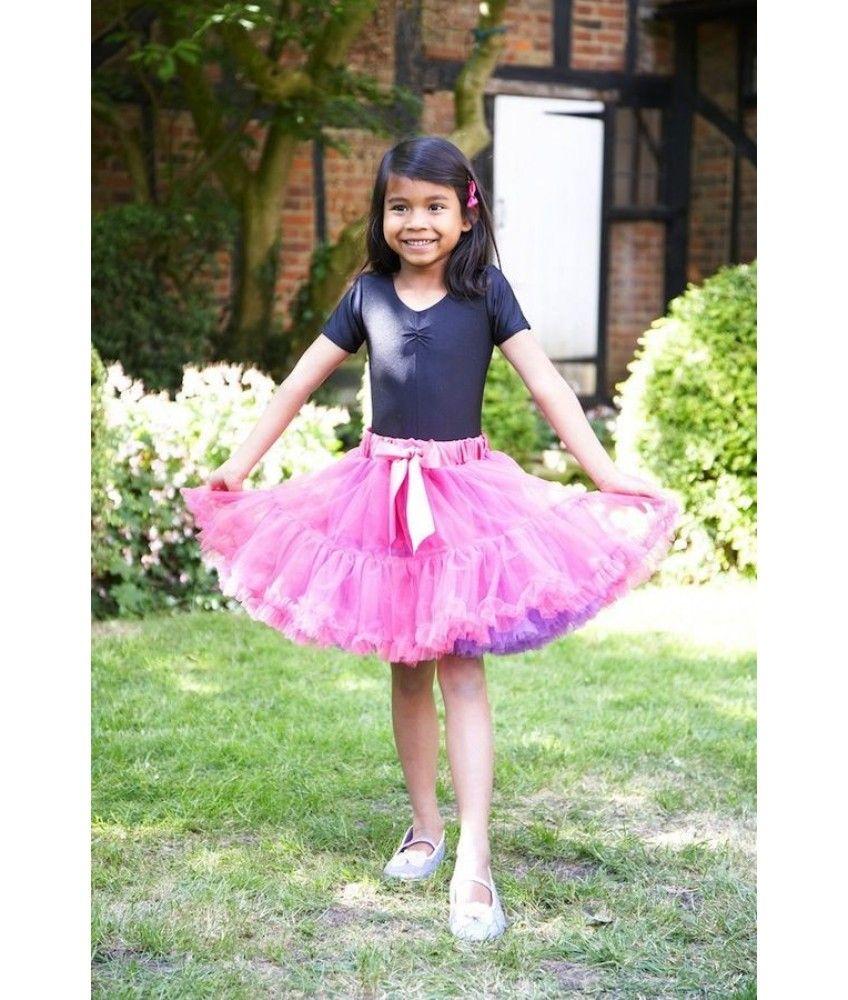 Cerise Violet Frothy Tutu Skirt