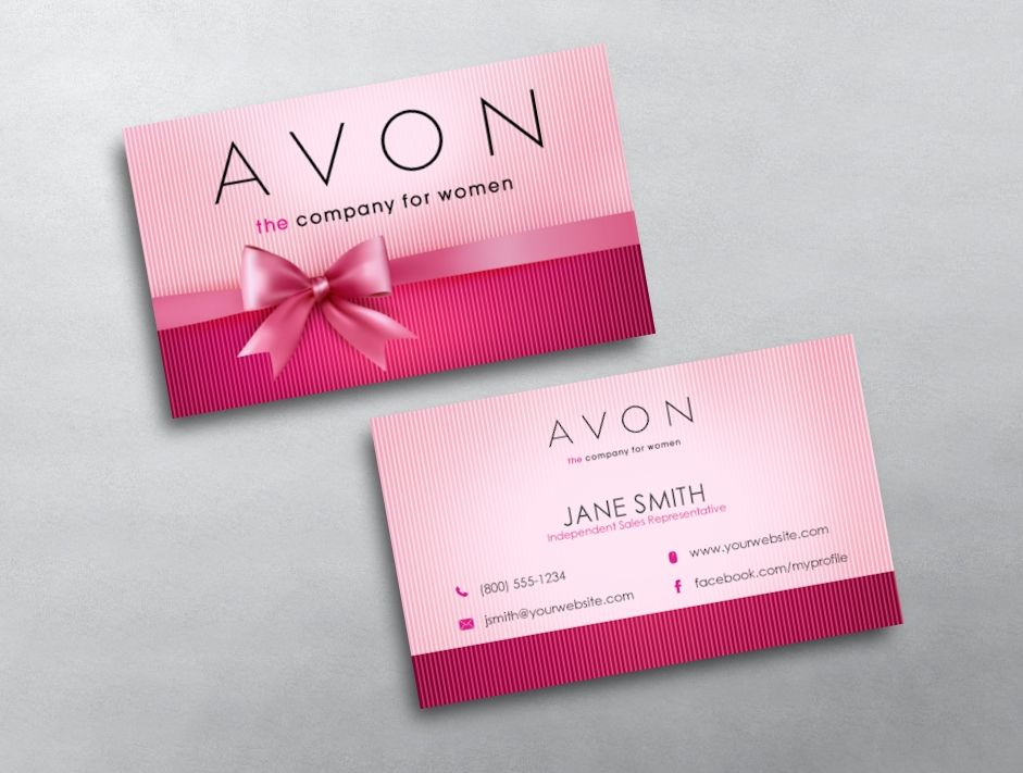 Avon Business Card 10